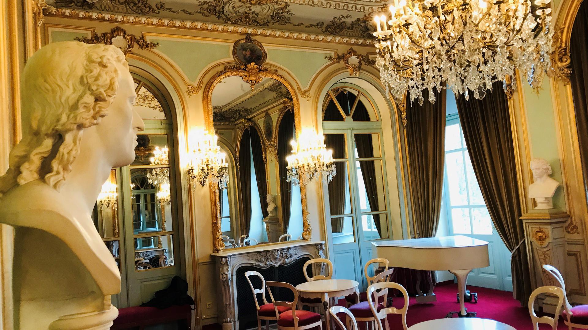 der Spiegelsaal im Theater Baden-Baden.