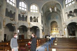 Johannes Laub und Raymond Bunz (von links), St. Bernhard Baden-Baden