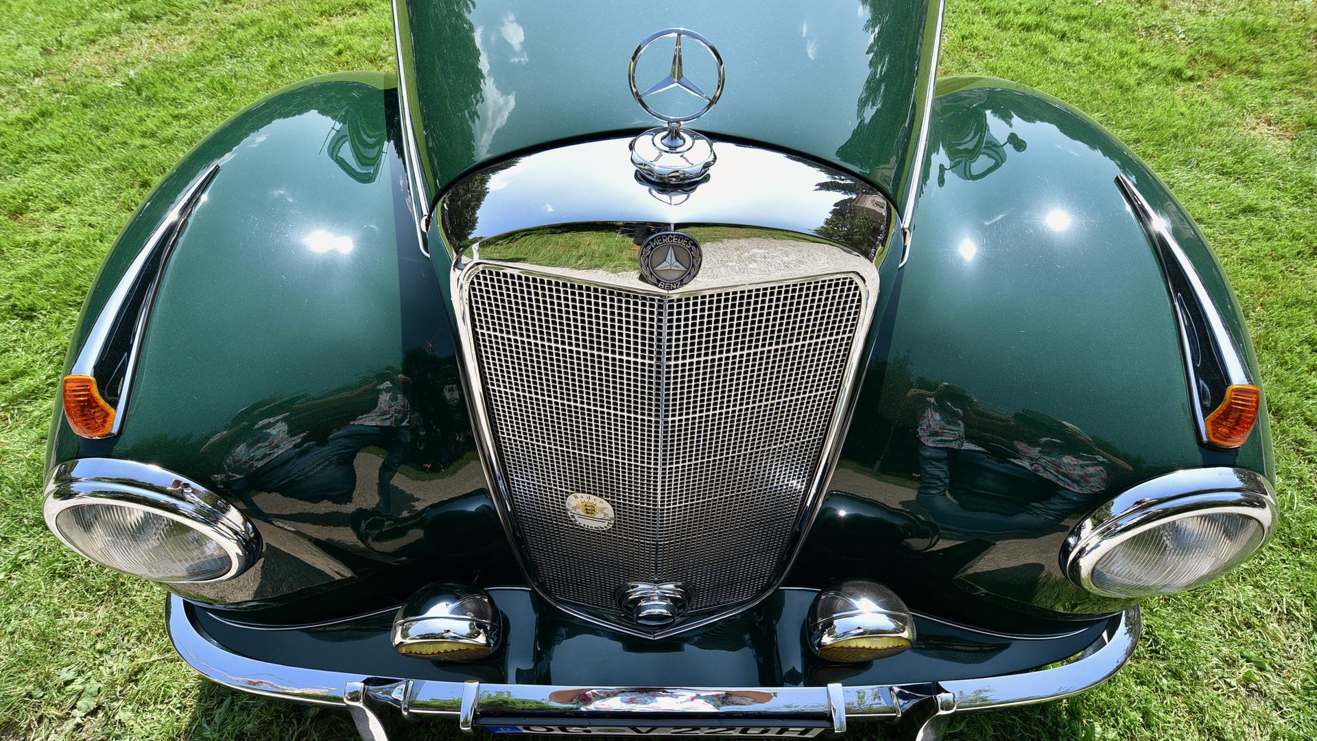 Oldtimer-Meeting Baden-Baden / 87Mercedes-Benz220 A Coupé1954k. A.k. A.Benz, H.