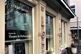 Die Karten-Vorverkaufsstelle ist seit 2018 in einem Gebäude in der Baden-Badener Altstadt untergebracht.
