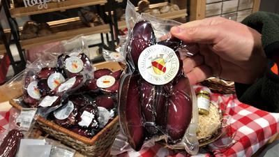 Rehschinken gehört zum Produktangebot der Wildkammer.