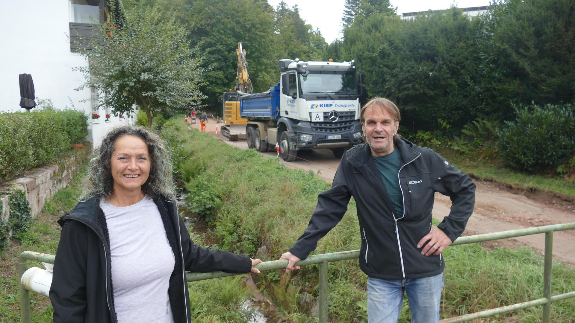 Jolanda und Marcel Caspers haben sich mit ihrer Leserfrage bei den BNN gemeldet.