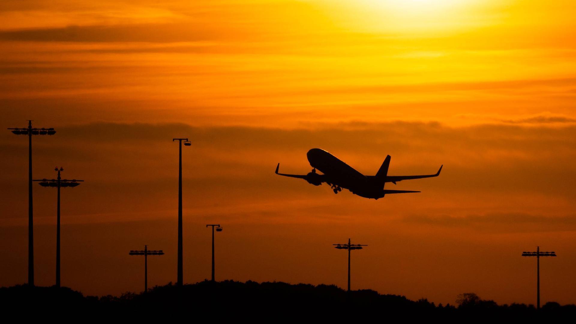 Auf in den Süden: Manche Urlauber sind bereit, ins Flugzeug zu steigen, andere hingegen verzichten dieses Jahr auf den Aufenthalt im Ausland und verbringen ihren Sommer in Deutschland.