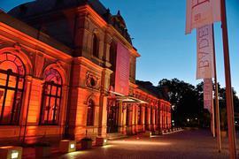 Die Fassade des Festspielhauses in Baden-Baden.