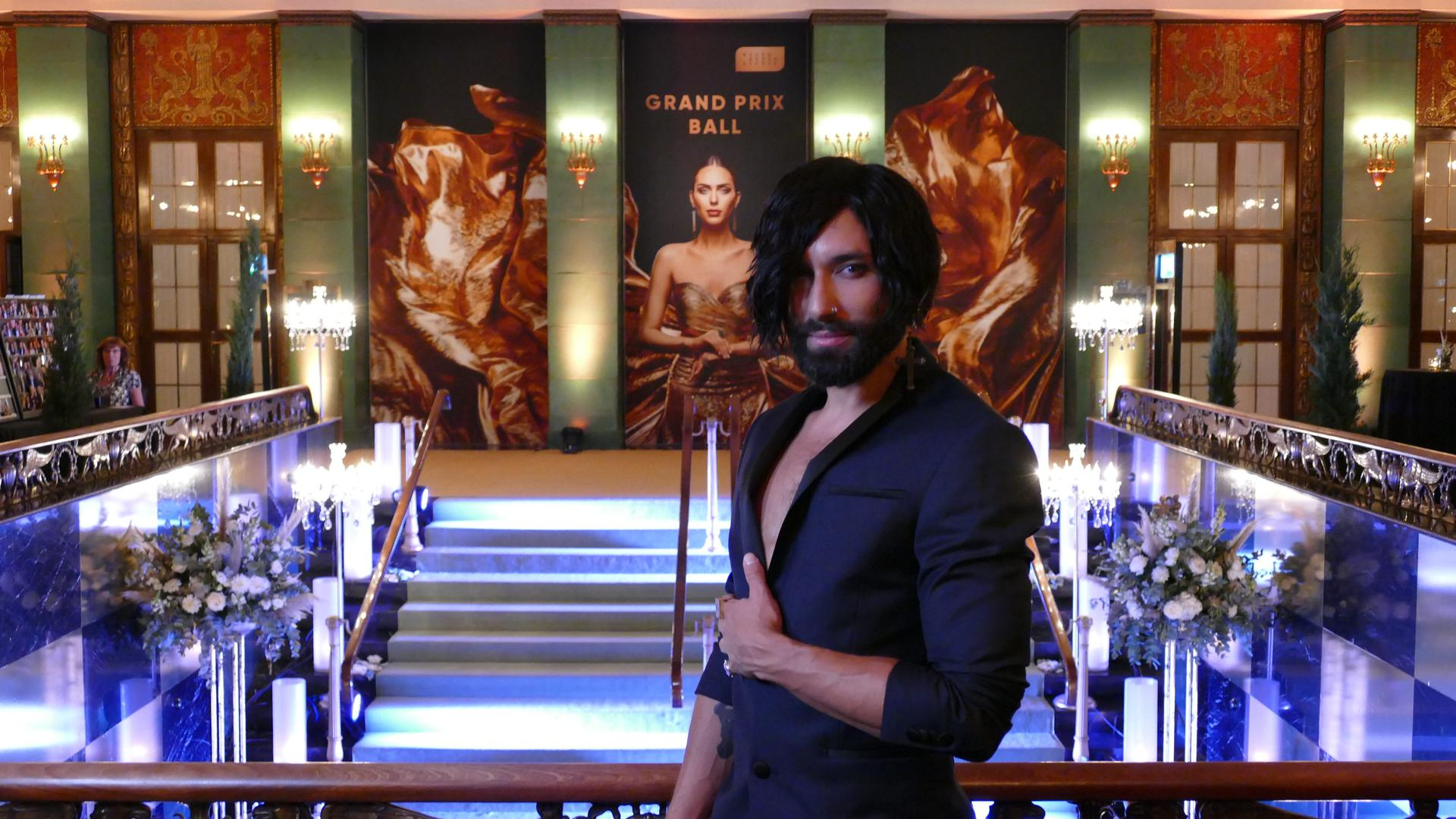Grand PRix Ball Conchita Tom Wurst beo (2)