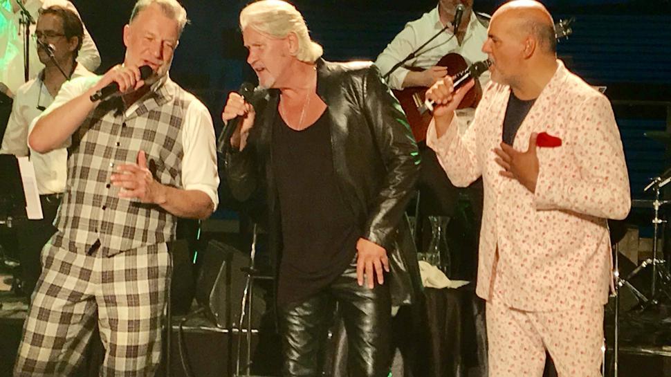 Konzerte auf der Bühne der Volksschauspiele Ötigheim - wie hier mit ESC-Gewinner Johnny Logan gehörten zu den Höhepunkten im M&A-Terminkalender.