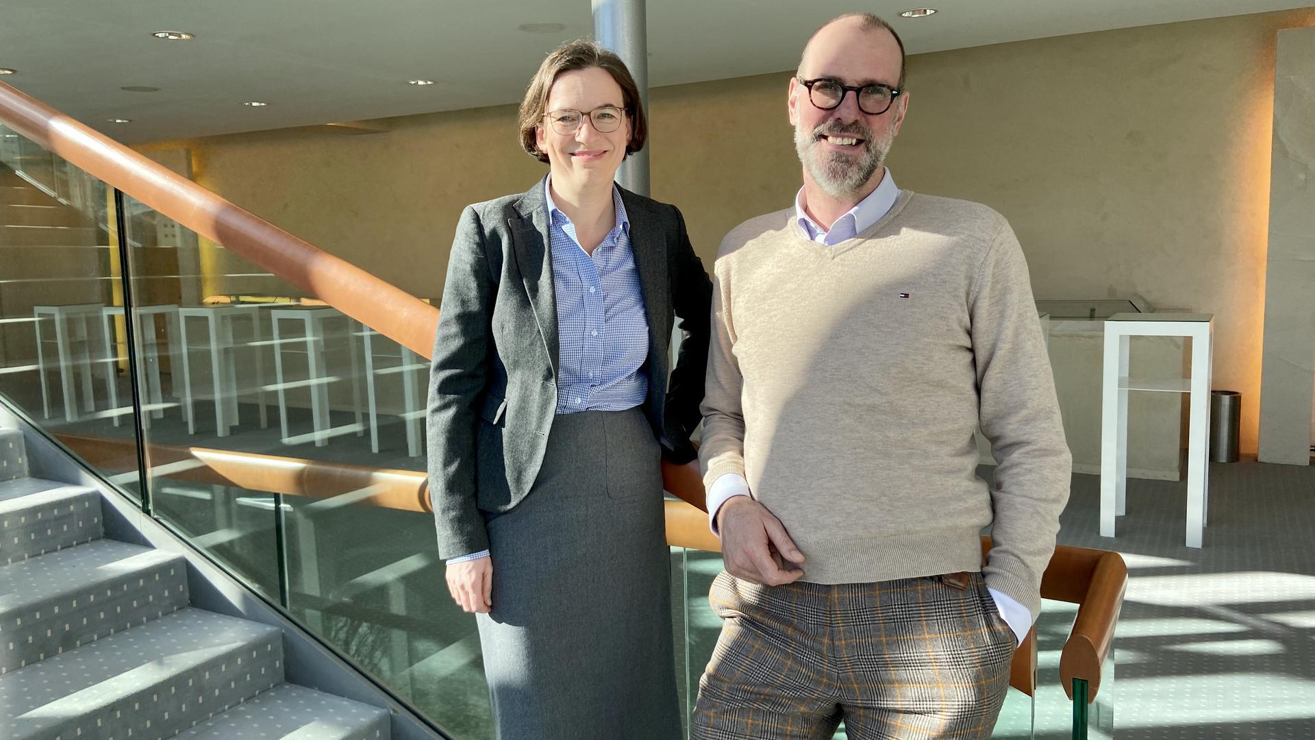 Neue Spitze mit viel Tatendrang: Ursula Koners und Benedikt Stampa führen seit November gemeinsam die Geschicke am Festspielhaus Baden-Baden und wollen es zu einem Zentrum des Europäischen Musiklebens machen.