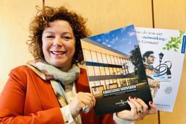Werbung für den Kongress-Standort Baden-Baden: Die Tourismus- und Kongresschefin Nora Waggershauser geht mit Partnern aus der Bäderstadt mit einer Roadshow auf Tour.