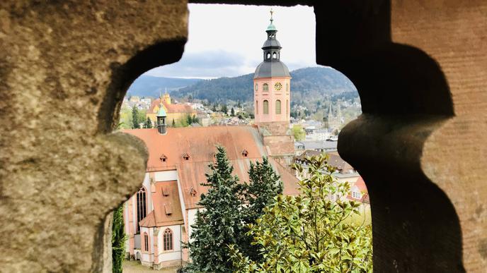Beliebtes Fotomotiv: die Stiftskirche Baden-Baden.