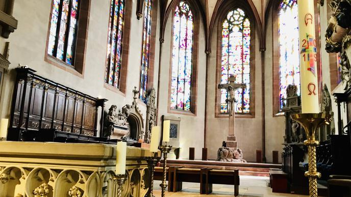 Sanierungsbedürftig ist die Stiftskirche Baden-Baden.