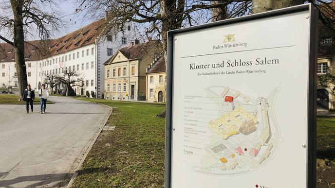 Beliebtes Ziel für Touristen: Schloss und Kloster in Salem.