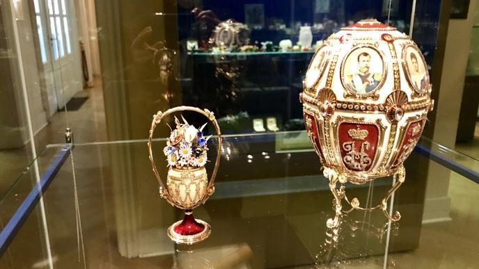 Eines der wertvollsten Stücke im Museum: ein Fabergé-Ei. Weltweit sind 52 Exemplare nachgewiesen. Vier sind im Besitz des Museums in Baden-Baden.