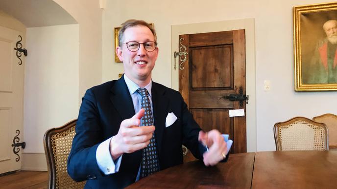Sieht sich als Impulsgeber und Unternehmer aus Leidenschaft: Bernhard Prinz von Baden im BNN-Interview.