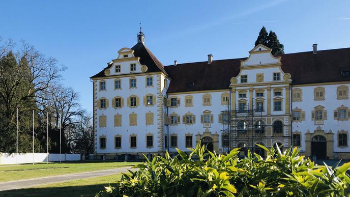 Schloss Salem am Bodensee.