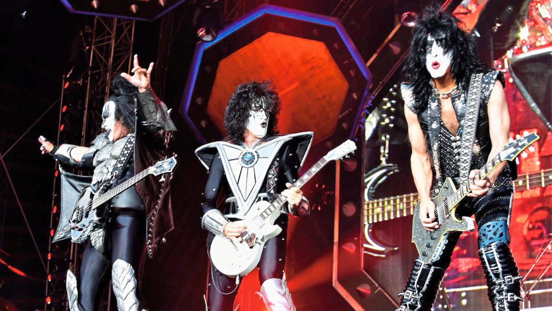 Kiss Konzert In Iffezheim