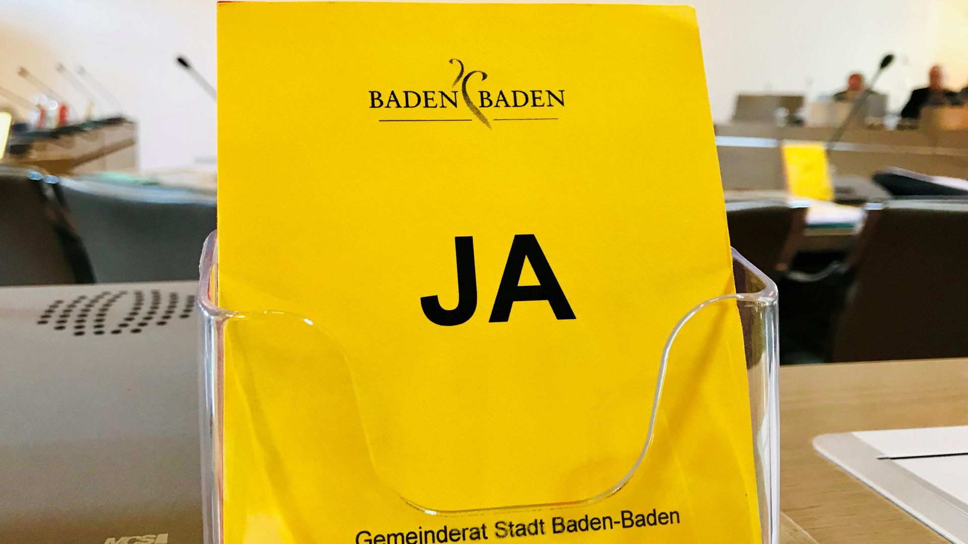 Das Ergebnis für die Kommunalwahl in Baden-Baden wird an diesem Montag, 27. Mai, ermittelt.