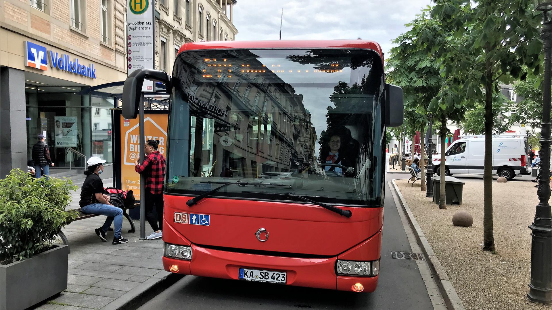 Bessere Anbindung: Künftig soll auf der Strecke nach Bad Herrenalb, die bislang die Linie 244 bedient, eine neue und schnellere Regiobus-Linie verkehren. Zudem ist eine Verlängerung zum Bahnhof Bühl geplant.