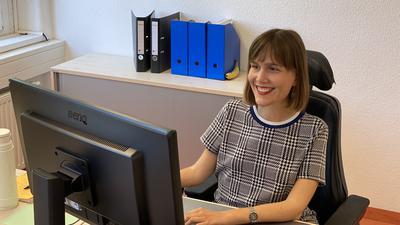Nora Welsch ist die neue Behindertenbeauftragte von Baden-Baden und erzählt von ihrem Job.