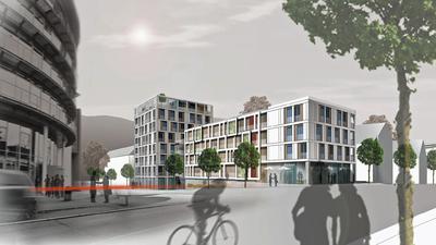 Sieht so die Zukunft an der Murgstraße in der Weststadt aus? Vermutlich durch ein Versehen sind die Pläne im Bürgerinformationssystem öffentlich geworden.