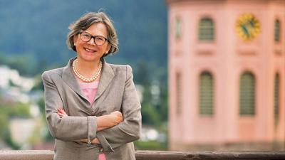 Elisabeth Lammert koordiniert die Spendenaktion für die Stiftskirche. Rund 500.000 Euro sind für die Renovierung des kulturhistorischen Kleinods zusammengekommen.