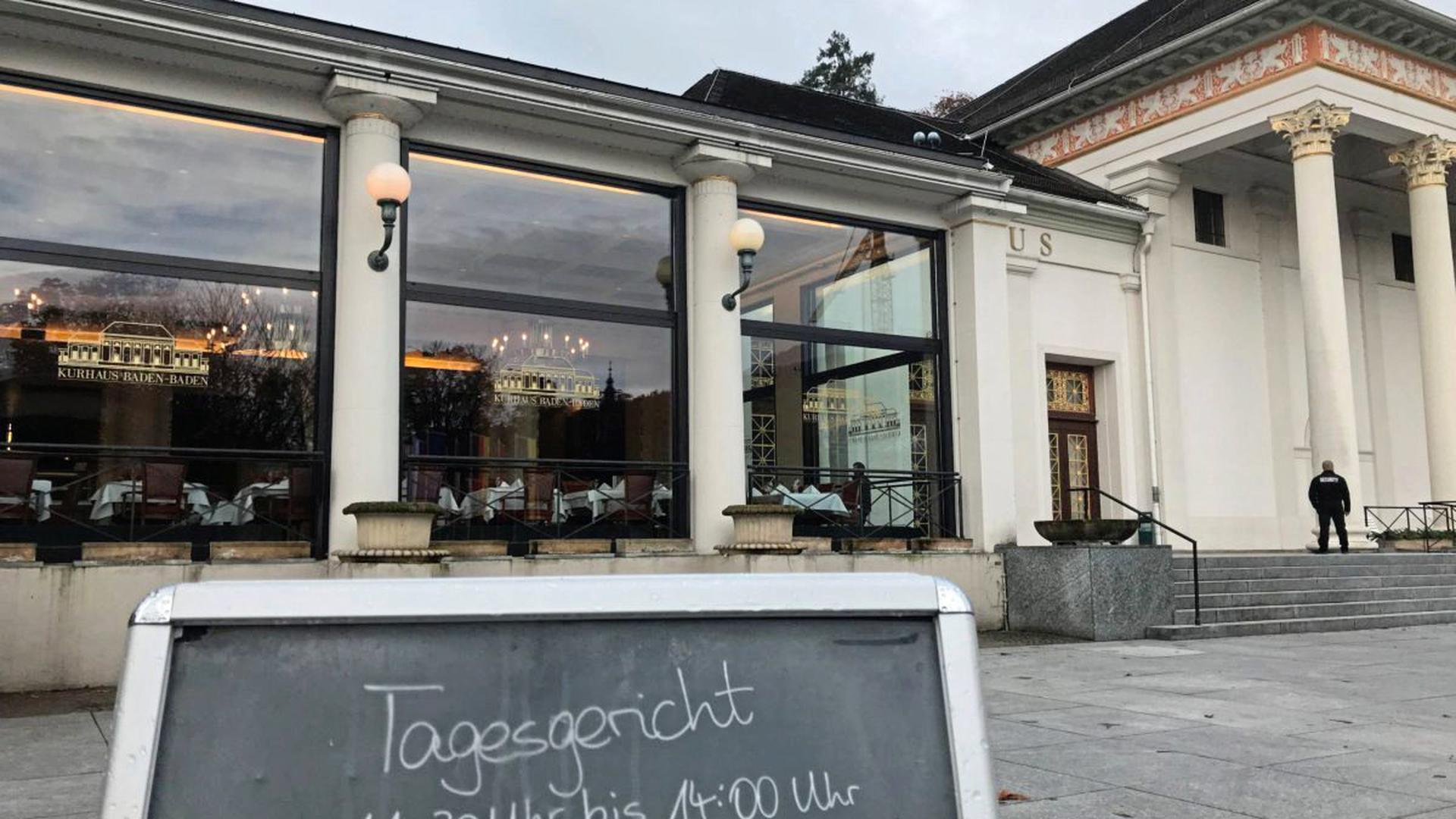 Kurhaus Restaurant Baden-Baden
