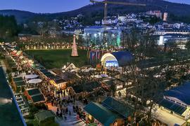 Als alles noch normal war: Ein Blick auf den Christkindelsmarkt in Baden-Baden zur Jahreswende 2019/2020