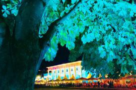 Kurhaus Baden-Baden in Festbeleuchtung