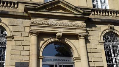 Das Oberlandesgericht in Karlsruhe