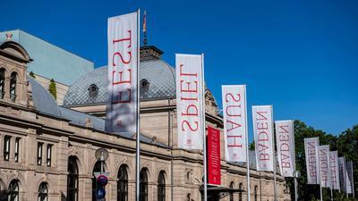 Blick auf das Festspielhaus Baden-Baden.