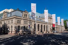 Aussenaufnahme des Festspielhaus Baden-Baden.