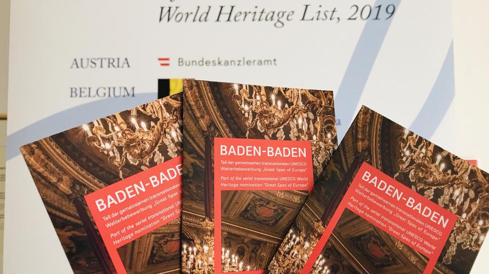 Baden-Baden hofft auf eine erfolgreiche Bewerbung um den Welterbe-Titel.