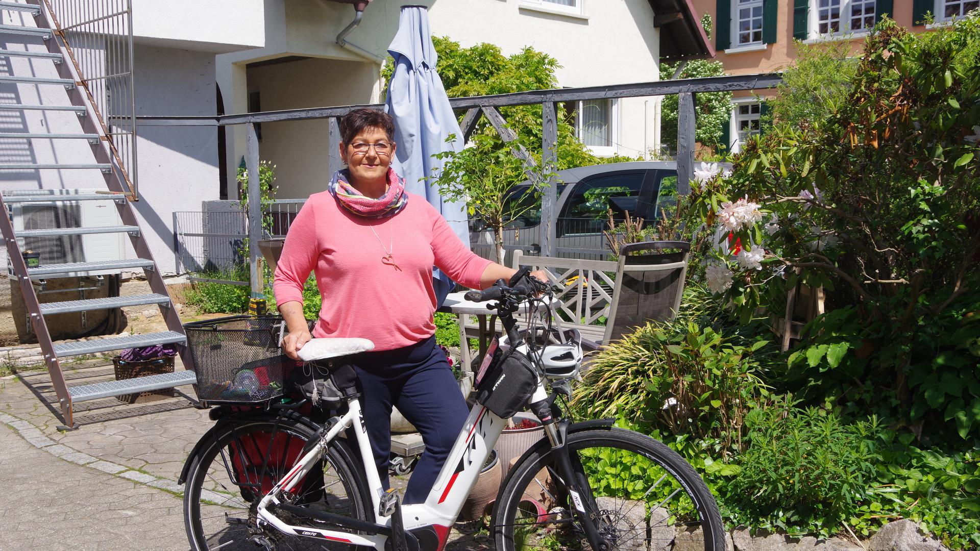 Nierentransplantation - Sonja Müller  Lebensmotivation ist das Fahrrad.