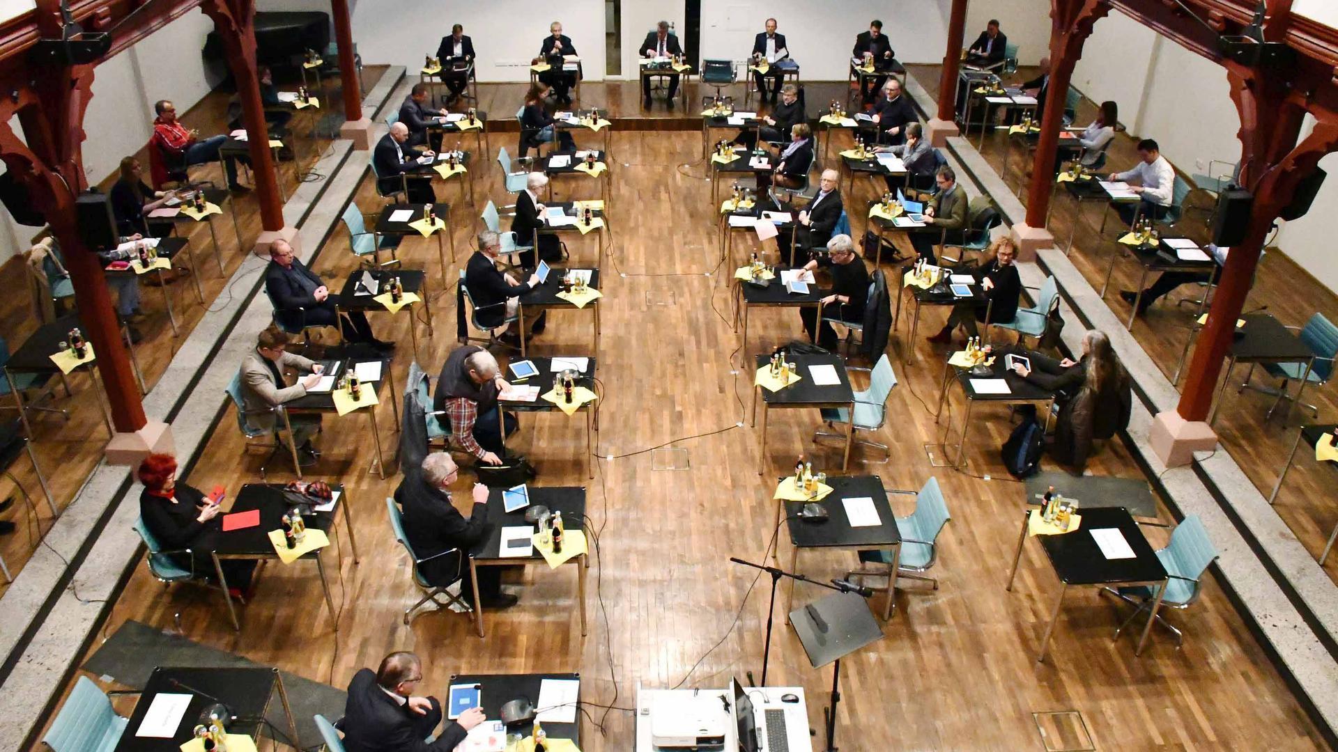 Gemeinderatsitzung Bühl 11.03.2020  Corona-Virus