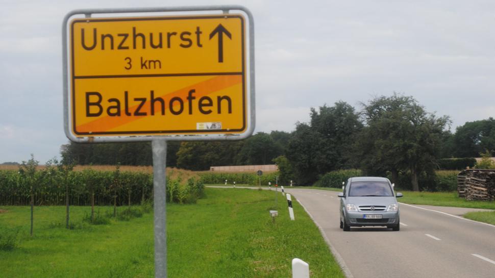 Balzhofen bildet die südliche Grenze der heute bekannten PFC-Belastung. Ein weiterer belasteter Stadtteil ist Weitenung.