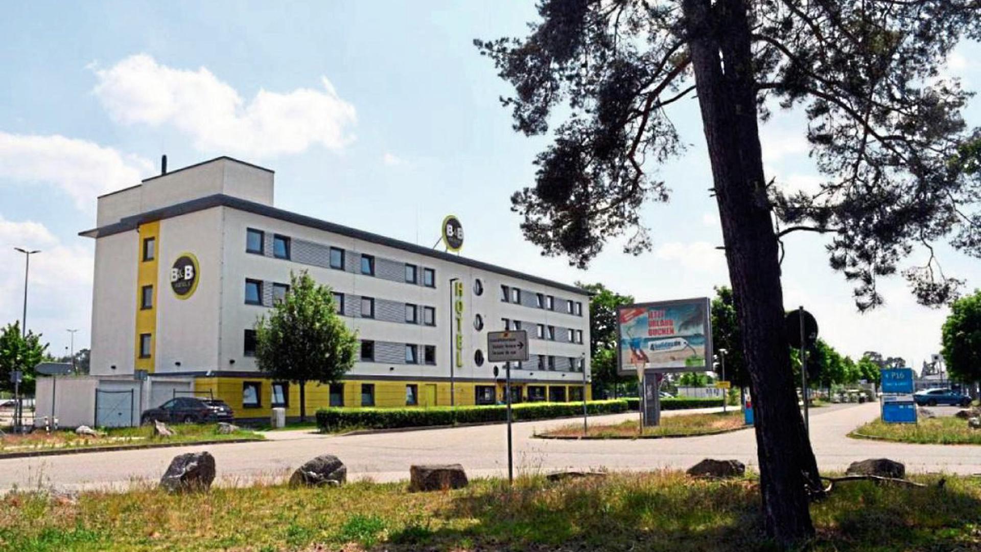 In Quarantäne: Für die Pflegekräfte aus Rumänien war das B&B Hotel am Baden Airpark in Rheinmünster ihre festgelegte Unterkunft seit ihrer Landung am 8. Mai.