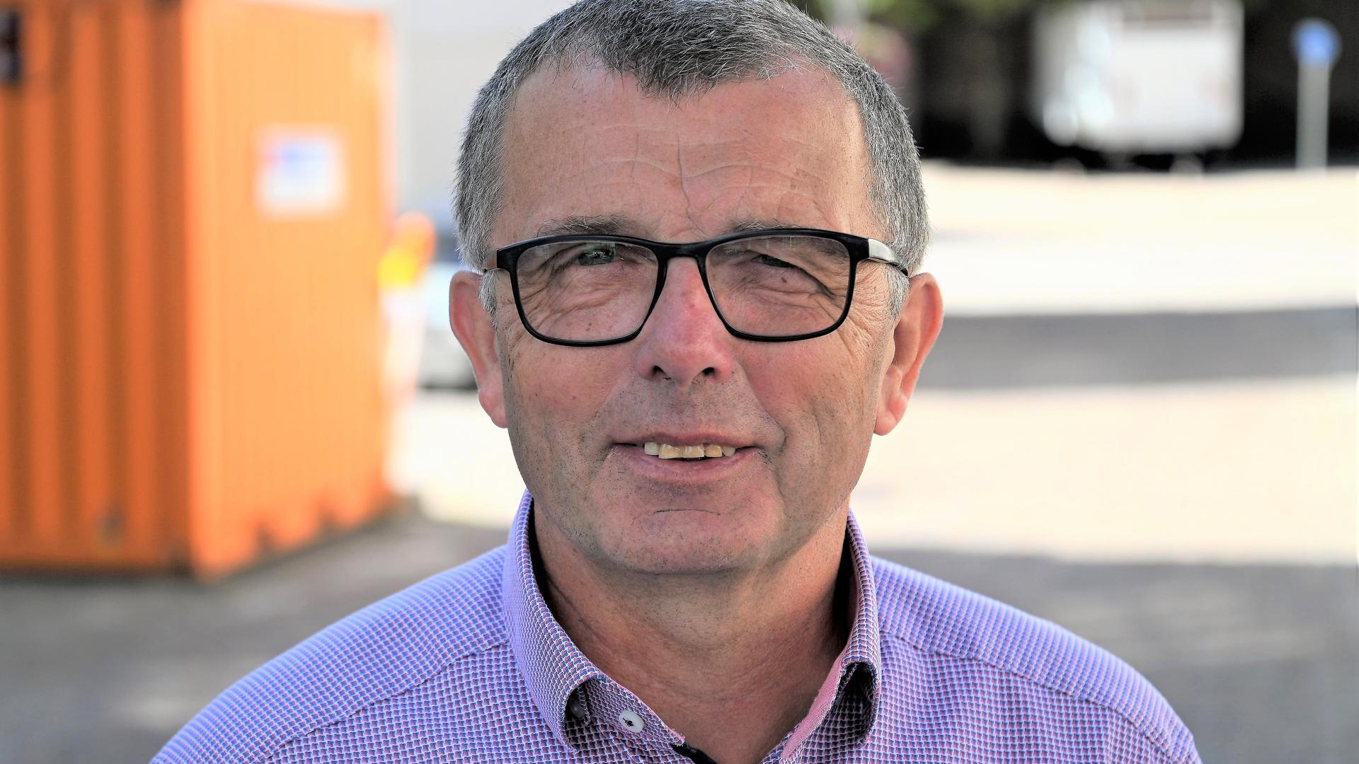 Andreas Bohnert ist Ordnungsamtsleiter der Stadt Bühl.
