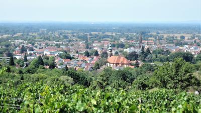 Blick auf die Stadt Bühl