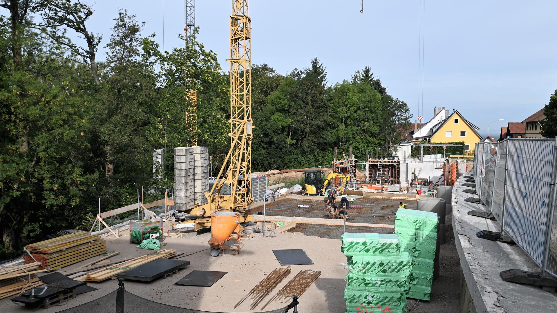 Ein Mehrfamilienhaus entsteht auf dem ehemaligen Uhlsche Sägewerkgelände an der Schwarzwaldstraße.