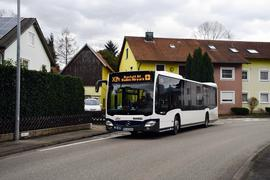 Buslinie SWEG in Oberweier