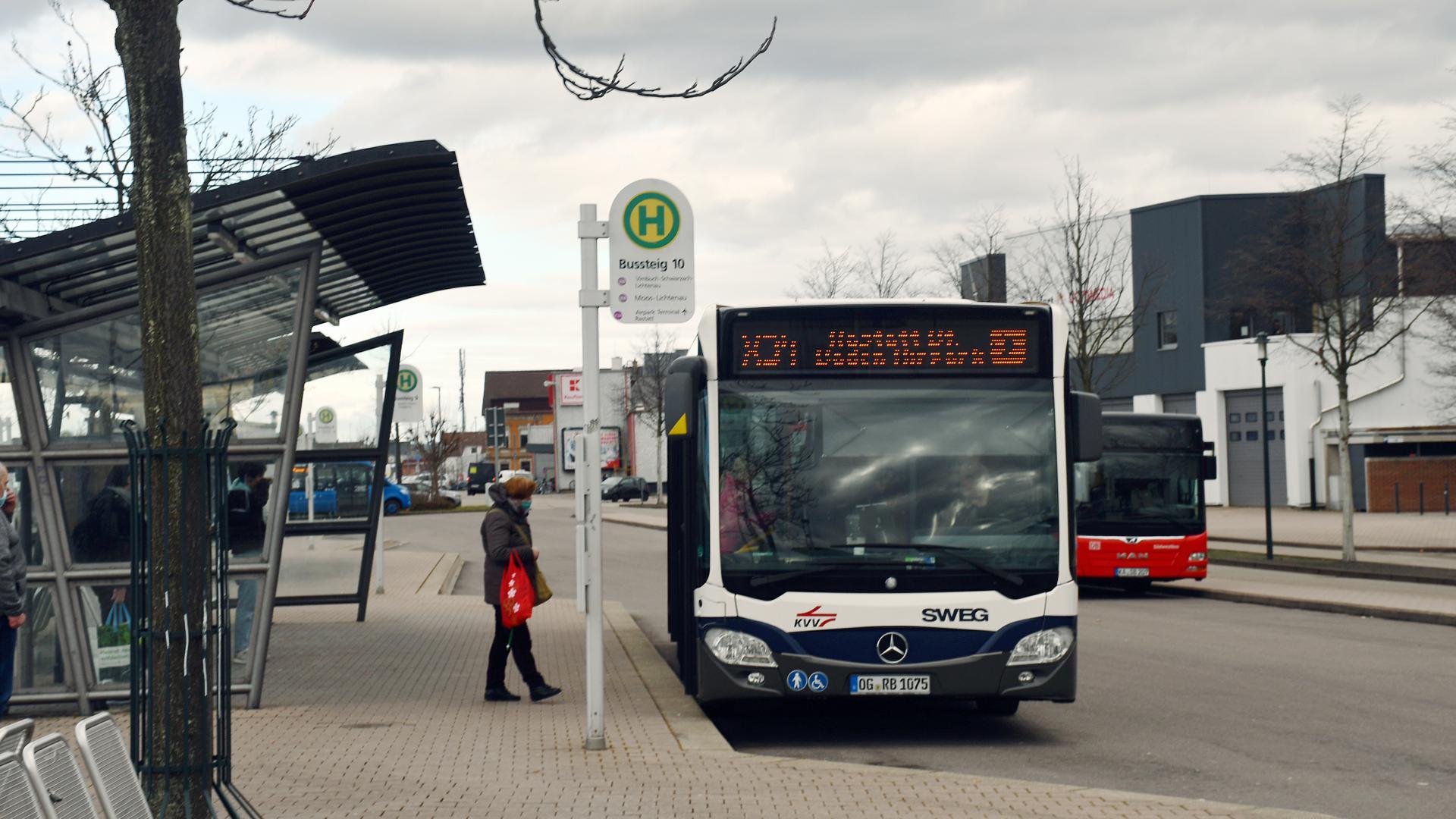Buslinie SWEG