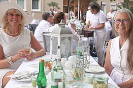 Diner en blanc in Bühl 2021