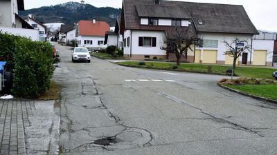 Kaputte Straße