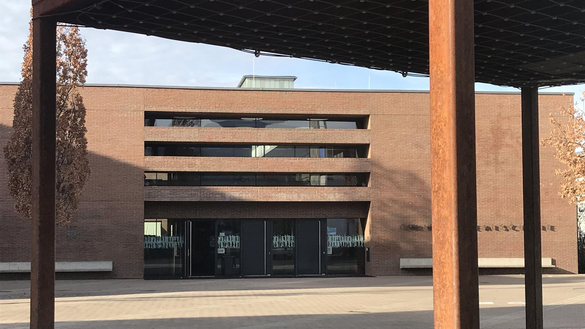 Blick auf Carl-Netter-Realschule Bühl