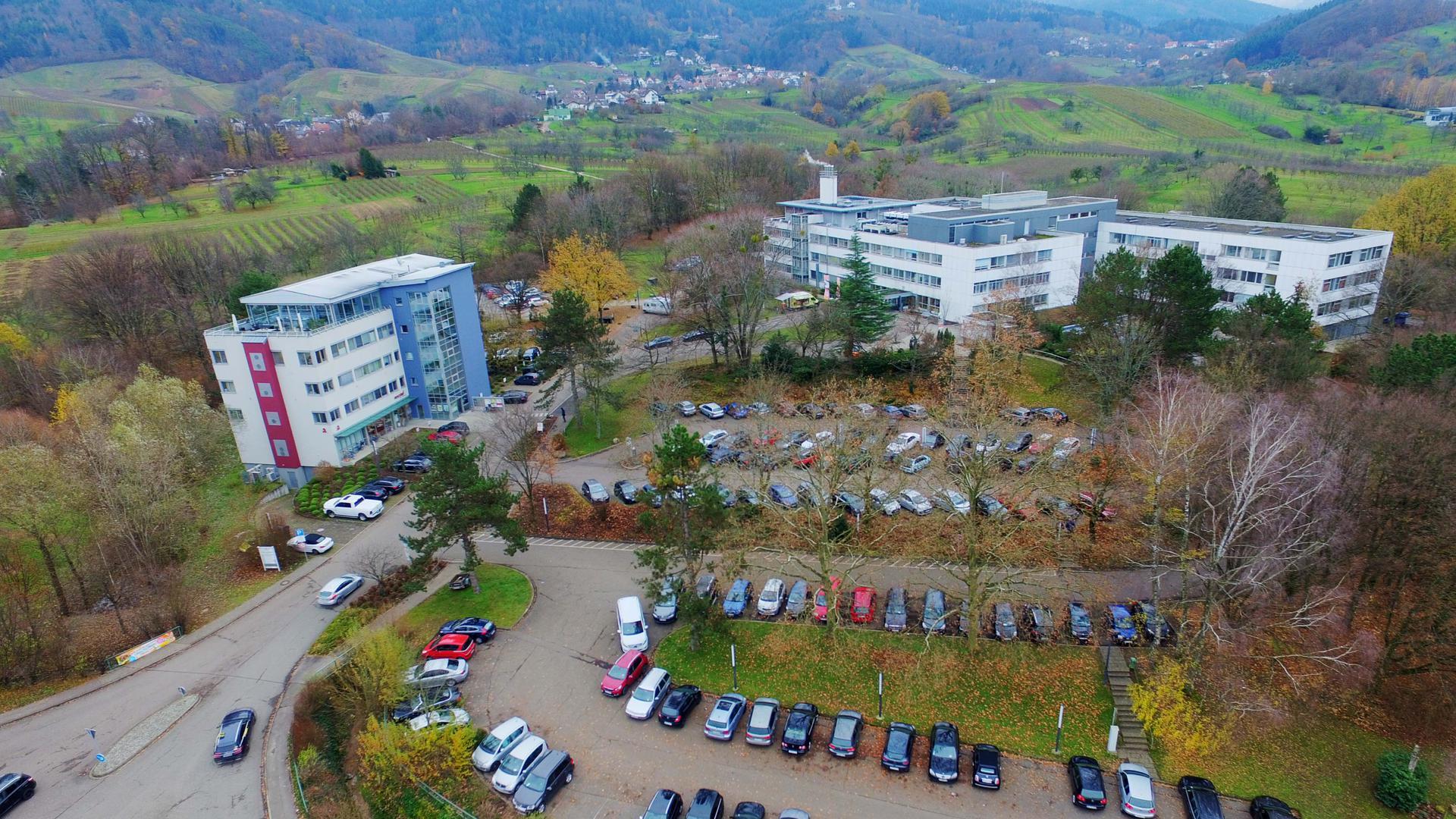 Luftbild Krankenhaus Bühl