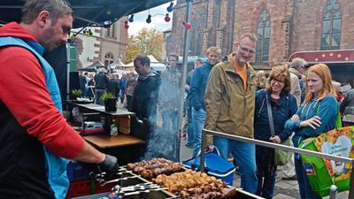 Der Streetfood-Markt in Bühl war ein großer Erfolg. Dieses Foto entstand bei der Veranstaltung im Jahr 2017.