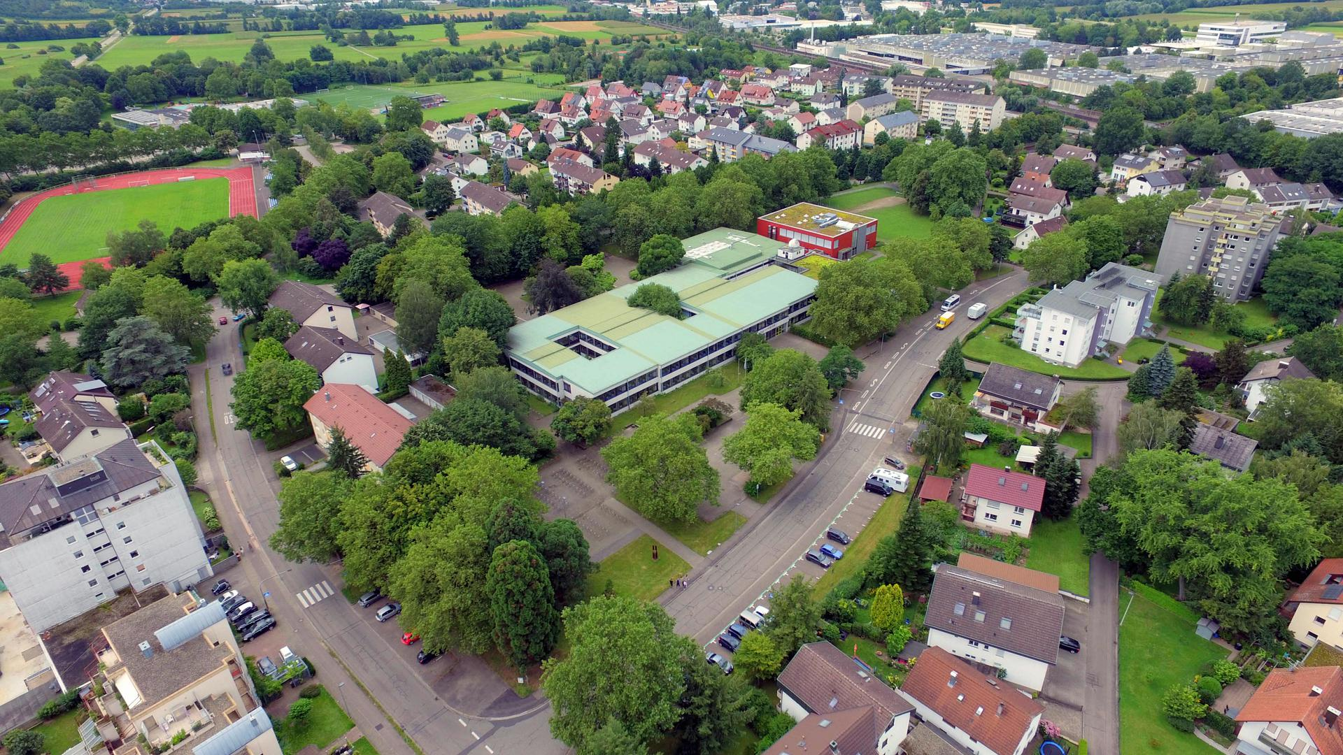 Luftbild Windeck-Gymnasium