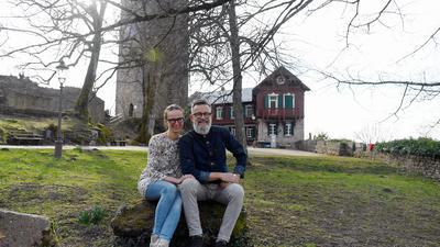 Rückblick mit Freude: Viele unvergessene Momente erlebten die Pächter Sandra Leukel und Christoph Wegehaupt während ihrer Zeit auf der Yburg.
