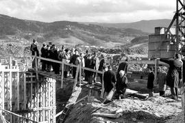 Männer auf Baustelle