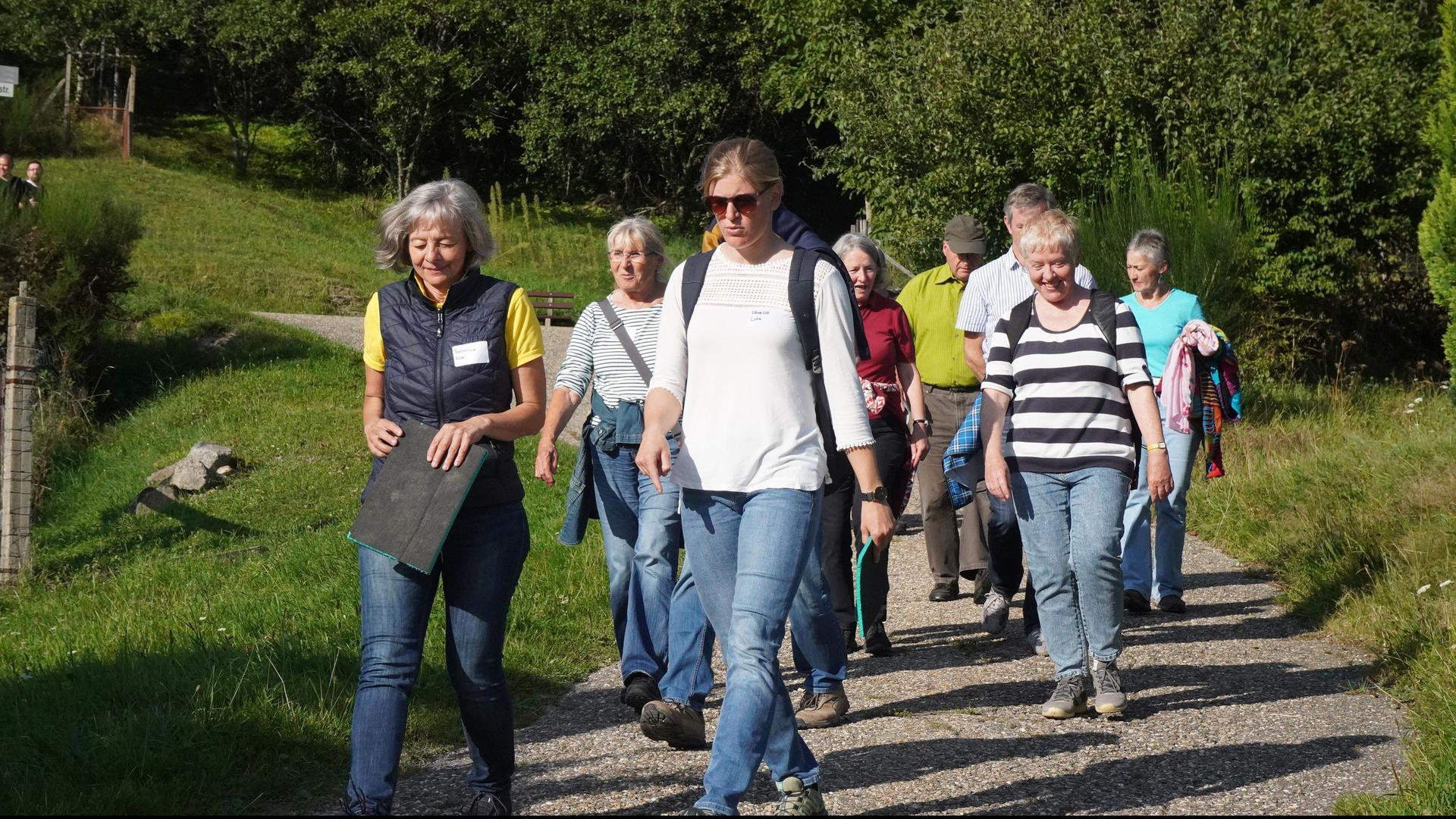 16 Schwarzwald-Guides lassen sich derzeit zu Naturpark-Klimabotschaftern ausbilden