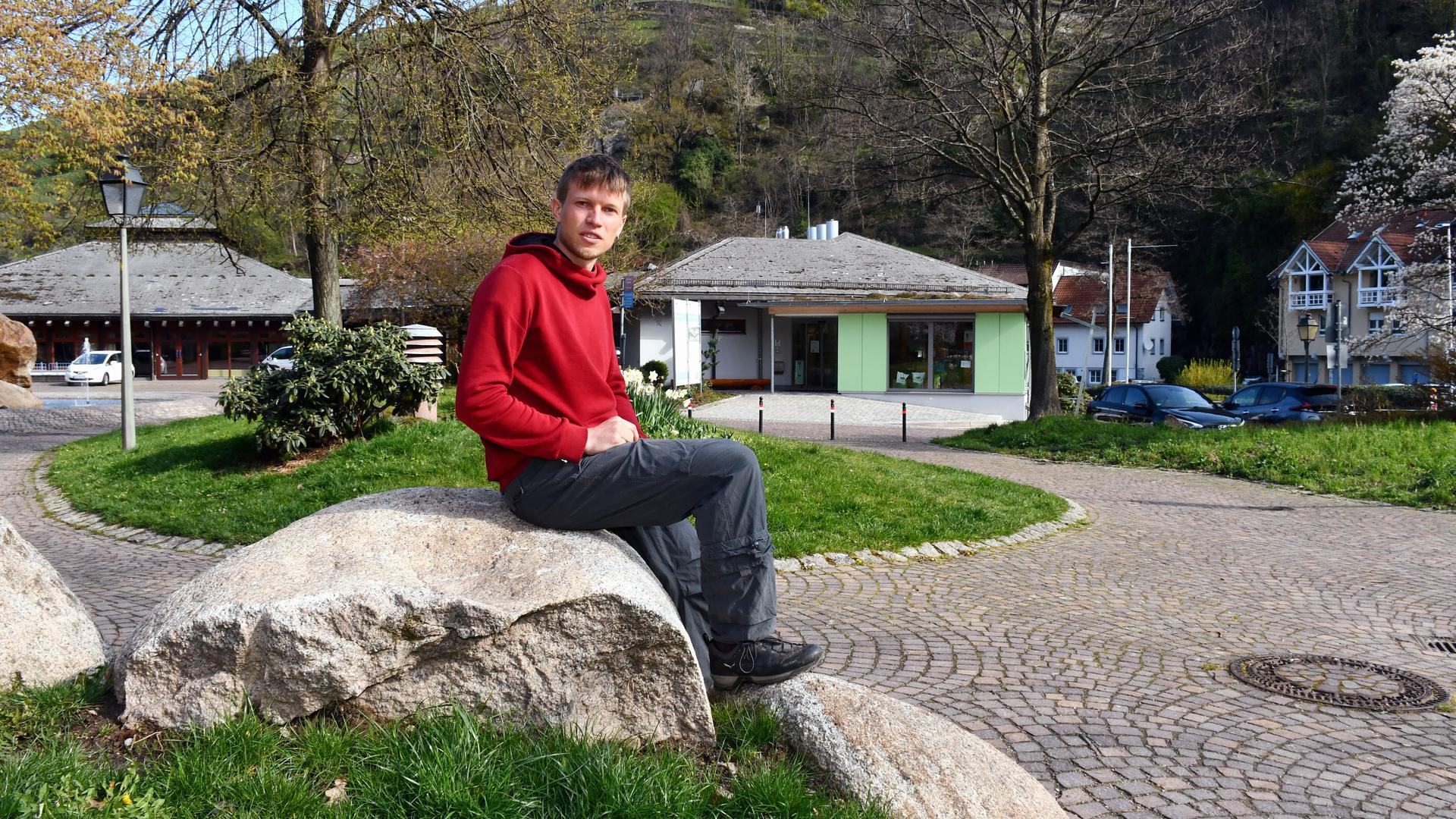 Mit Expertise und Ideen: Florian Schmid zeichnet seit Januar für das Projektmanagement der Klimakampagne des Naturparks Schwarzwald Mitte/Nord verantwortlich.